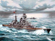 1941 KMS Heavy Cruiser Prinz Eugen