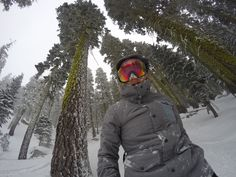 Who wants to get lost in the trees with us? #GoPro #GoProGirl #GoProSnow