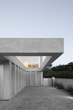 Swiss and UK studio DF_DC is part of the 2020 Architects Directory Concrete Houses, Concrete Floors, Concrete Furniture, Villa, Sustainable Architecture, Architecture Design, Concrete Architecture, Minimalist Architecture, Hillside House
