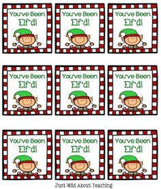 You've Been Elf'd Freebie!