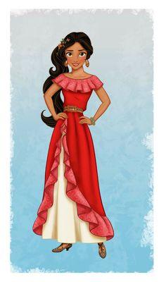 Conoce a la nueva princesa de Disney Elena de Avalor, Inspirada en varias culturas latinas. Llega al Disney Channel y a los dos parques Disneylandia y Disney California Adventure muy pronto este a;o 2016.