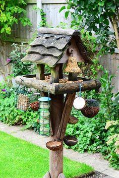 Multi-feeder for birds