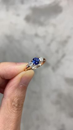 Three Stone Engagement Rings, Beautiful Engagement Rings, Beautiful Rings, Sapphire Engagement Rings, Colored Engagement Rings, Modern Engagement Rings, Country Engagement, Designer Engagement Rings, Engagement Pictures