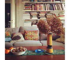 i love books behind sofas