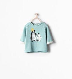 -Sweatshirts-Baby girl (3 months - 3 years)-KIDS | ZARA United States