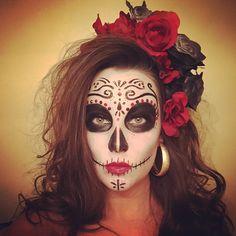 #sugarskull #dayofthedead #diadelosmuertos #facepaint