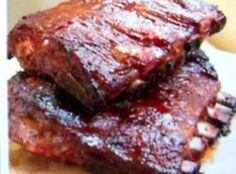 """BAR-B-Q BABY BACK .""""RAVE RIBS""""   are fail proof!"""