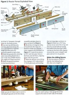 DIY Router Table Fence - Router Tips, Jigs and Fixtures - Woodwork, Woodworking, Woodworking Tips, Woodworking Techniques