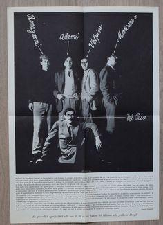 Galleria Profili, Milano # Adami, del Pezzo, Volpini, Romagnoni, Marconi # 1964, mint-