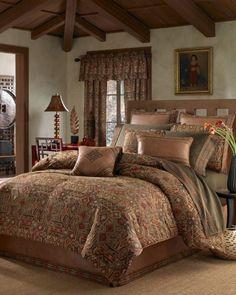 (Click to order - $249.99) Croscill Yosemite Queen Comforter Set From Croscill