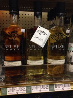 Gluten Free infused vodka with real fruit. But you have to taste this to fully understand!