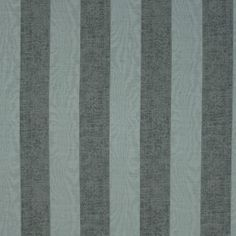 Blue striped fabric - Francois Opal by Charles Parsons Interiors