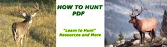 How to Hunt PDF - A complete How to hunt pdf, teaching you everything you need to know about deer hunting secrets.