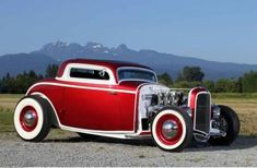 Vintage Cars Muscle The best vintage cars hot rods and kustoms - Hot Rods, Traditional Hot Rod, Classic Hot Rod, Ford Classic Cars, Kustom Kulture, Us Cars, Vintage Trucks, Car Painting, Sexy Cars