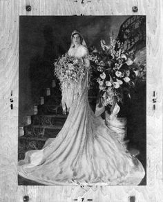 This spectacular veil was handmade for Princess Stéphanie of Belgium for her wedding to Austro-Hungarian Crown Prince Rudolf in Adelaide Brevoort Close wears the veil in January Photo courtesy of Hillwood Estate, Museum & Gardens. Wedding Tips, Wedding Styles, Wedding Gowns, Wedding Photos, Wedding Day, Wedding Veil, Royal Brides, Royal Weddings, Vintage Weddings