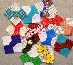 QM Bitty Blocks: Free quilt block patterns monthly during 2015. They'll make a row quilt by the end of the year! #qmbittyblocks