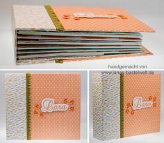 Janas Bastelwelt - Unabhängige Stampin' Up! Demonstratorin: Ein Babyalbum für Lara