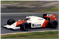 1986 McLaren MP4/2C - TAG Porsche (Alain Prost)