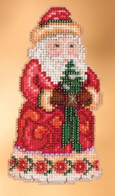 Jim Shore by Mill Hill  Christmas Cheer Santa  by DebiCreations, $7.99
