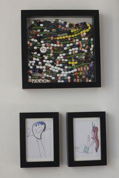 Beautiful Beads of Courage display!