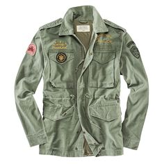 Deus Jacke LAND M65 Army Shirts, Boys Shirts, Fashion Wear, Mens Fashion, Army Look, Streetwear Jackets, Winter Outfits Men, Mens Attire, Biker