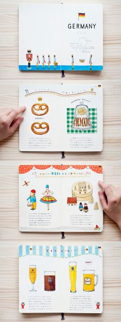 Speaking of NYC , meet Kondo Yoshie , a Japanese girl who magically turns plain notebooks into charming illustrated city guides  after her...
