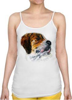 Köpek Kendin Tasarla - Bayan İnce Askılı Atlet
