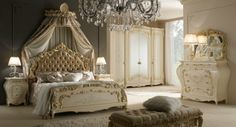I like this style. I want a Victorian style bedroom like this