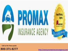General Insurance Quotes Promax Insurance Agency Is A Mercury Authorized Agent Provides Cheap .