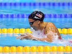 Plainsboro native Rebecca Soni set a World Record during the 200m Breaststroke Semifinal.