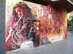 : Spain graffiti