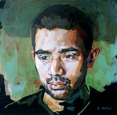 The internal gaze in my paintings is a human expression I return to constantly. I love glazing in paint, the layers add emotional depth. Layers, Paintings, My Love, Art, Layering, Art Background, Paint, Painting Art, Kunst