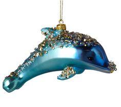 Dolphin Ornament Glass