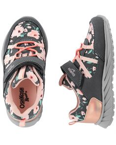 63be8a19dd7446 Toddler Girl OshKosh Floral Athletic Sneakers from OshKosh B gosh. Shop  clothing   accessories from a trusted name in kids