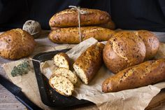 Bread Pan  con verduras