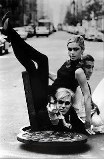 Eddie Sedgwick and Andy Warhol
