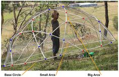 How To: build a Geodesic Chook Dome « Milkwood: permaculture farming and living  #genius #chicken #diy