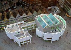 The White Guy, Richard Meier, Stadthaus Ulm