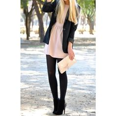 Pinterest / Search results for blazer with dress found on Polyvore