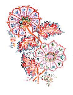 sketches for my textiles prints Textile Patterns, Textile Prints, Textile Design, Print Patterns, Images Lindas, Folk Art Flowers, Paisley Art, Portfolio Design, Portfolio Ideas