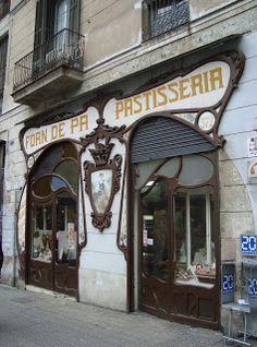 Boulangeries rue Gérone (Forns de pa, carrer Girona), Barcelona