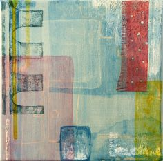 """Saatchi Online Artist: Hidёko Noguchi; Paint, 2011, Mixed Media """"The sound of the living room"""""""