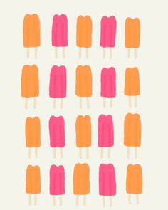 Fine Art Print.  Popsicles.  September 30 2011. by joreyhurley, $35.00