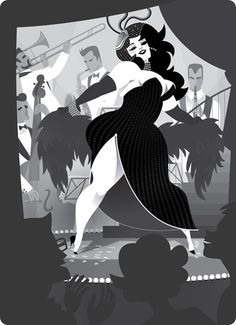 plus Size Illustrations by Steffi Schuetze