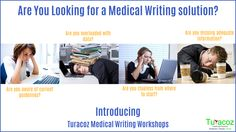 Introducing #Turacoz #MedicalWritingWorkshop For more details, call :9599-599-588/ 011 – 47039856 or mail us at hello@turacoz.in #MedicalWriting #ClinicalResearchMedicalWriting #PostAuthorizationEfficacyStudy #PrescriptionEventMonitoring #MedicalWritingTipsInDelhi #MedicalWritingDelhi #MedicalWritingMumbai #MedicalWritingBangalore #MedicalWritingHyderabad #MedicalWritingPune #MedicalWritingDubai