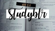 A College and Lifestyle Blog by Madeline Reyes: What is a Studyblr | Her Campus Article