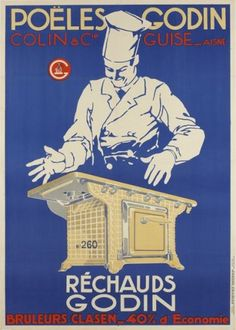 Poëles Godin - Réchauds Godin - 1930's -