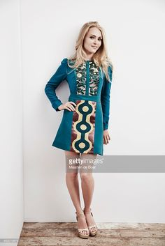 Actress AnnaSophia Robb of PBS's 'Mercy Street' poses in the Getty Images Portrait Studio powered by Samsung Galaxy at the 2015 Summer TCA's at The Beverly Hilton Hotel on August 1, 2015 in Beverly Hills, California.