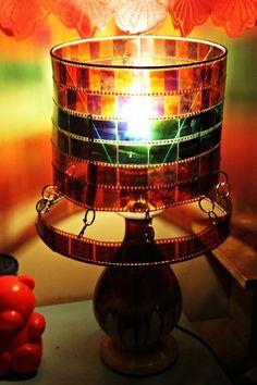 Photo Negative Lamp Shade | DIY Hangout