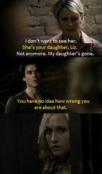 The Vampire Diaries season 2 episode 5. Damon sticks up for Caroline. woot woot!!!!